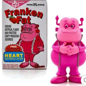 """Franken Fat Figure stands 3"""" tall"""